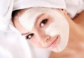 маска для лица белая глина