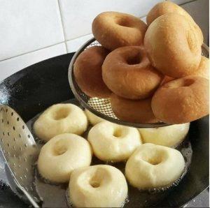 пошаговый рецепт пончиков с фото