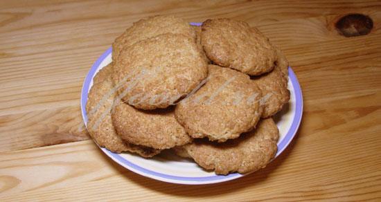 рецепт домашних овсяных печений