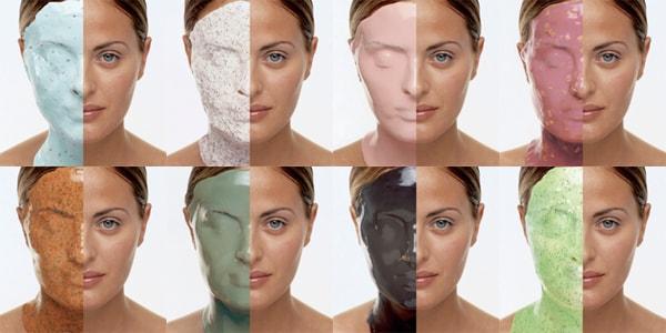 Виды уникальных масок для лица