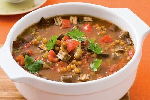 Пошаговый рецепт приготовления суп охотничий с чечевицей