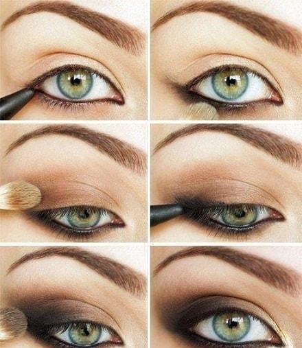 Правильный макияж - залог успеха как правильно наносить тени