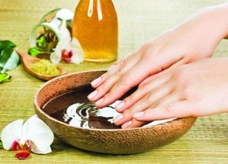 Уход за ногтями в домашних условиях ванночки