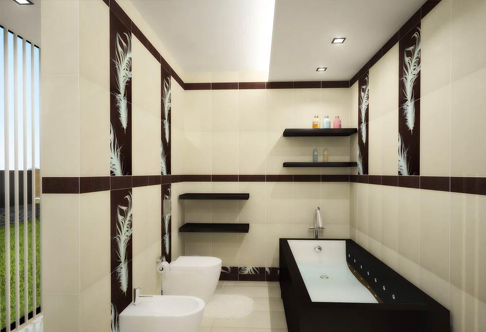 декорирование ванной комнаты в японском стиле