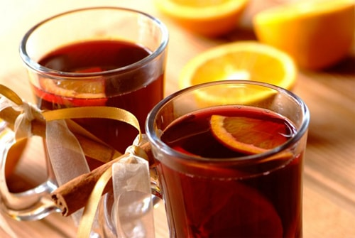 Глинтвейн с кагором и апельсином
