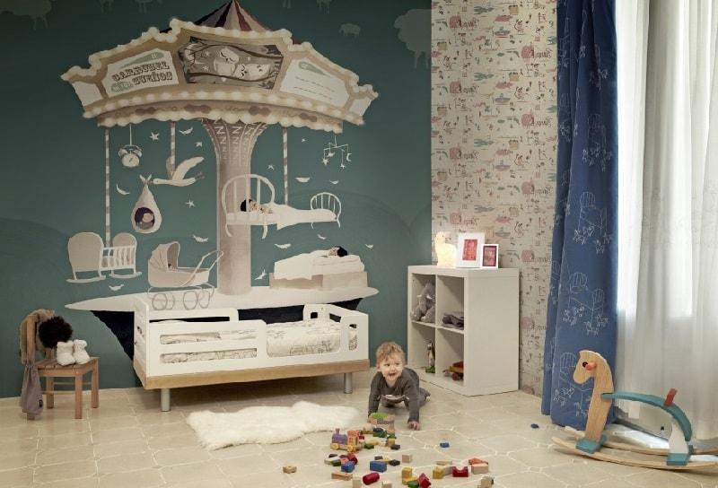 детская комната для мальчика
