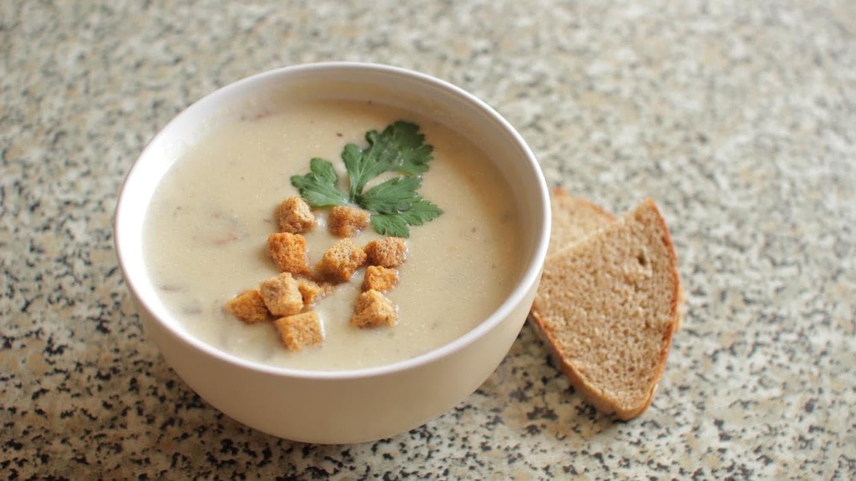 Сырный крем – суп по Французский