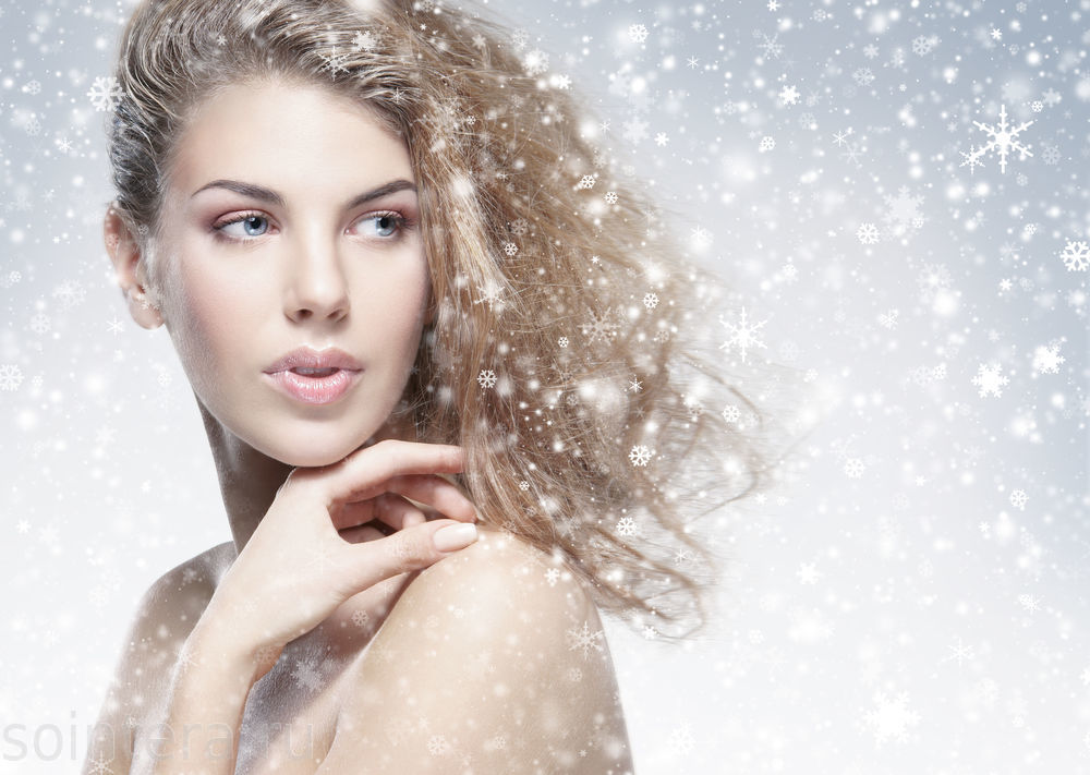 Как ухаживать за кожей лица в холод