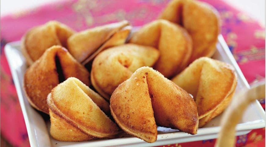 Пошаговый процесс приготовления печенья с пожеланиями