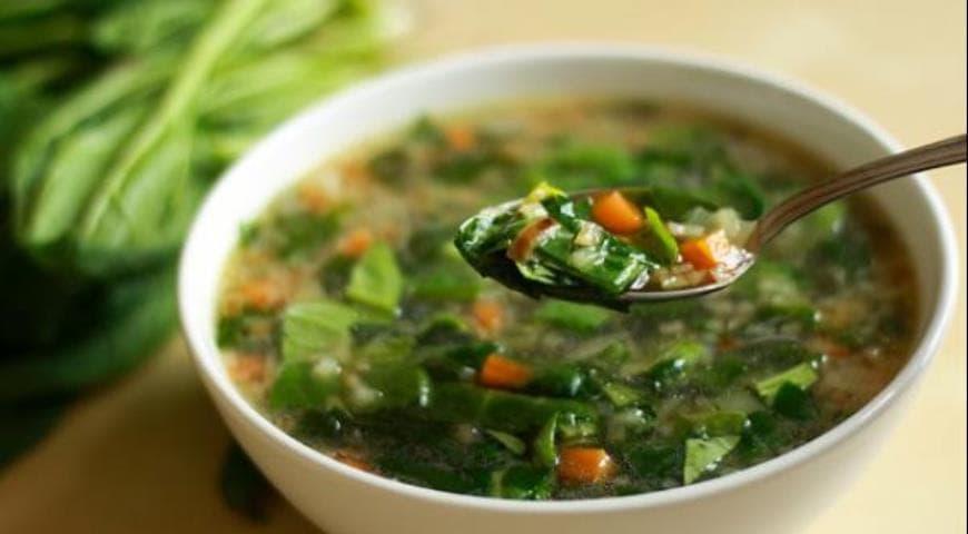 Пошаговый рецепт приготовления Щавелевый суп