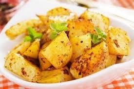 Пошаговый рецепт приготовления горчичного картофеля