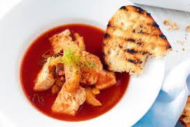 Пошаговый рецепт приготовления рыбный суп с томатами в тайском стиле