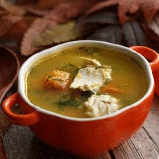 Пошаговый рецепт приготовления тыквенный суп с овсянкой