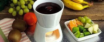 Пошаговый рецепт приготовления фондю из фруктового сока-