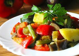 тушеные овощи по - деревенски