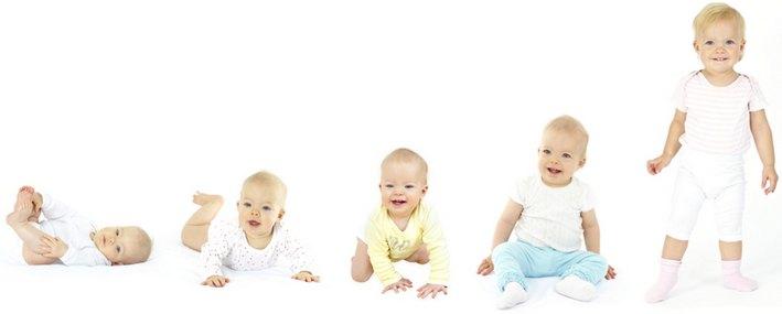 Правильное развитие ребёнка по месяцам до года